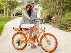 Tommy Bahama Electric Bikes Debut at Laguna Beach Grand Opening