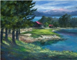 New Golf Course Landscape Paintings by Guy Salvato Unveiled
