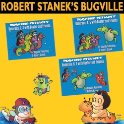 Return to the Sea with Buster and Friends in New Bugville Critters Picture Books from Reagent Press and Author Robert Stanek