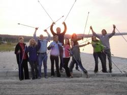 Michigan Company's Nordic Walking Poles Make the Cover of TOPS NEWS Nov. 2010 Magazine