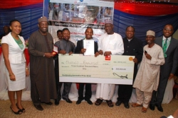First National Geomatics Prize & Gold Medal Awarded in Nigeria
