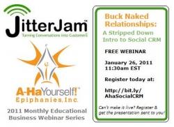 JitterJam, Epiphanies Inc. to Partner and Produce Free Monthly Social Marketing Webinar Series