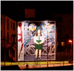 The Bogside Artists Light Up Their Famous Murals - PR.