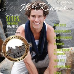 2011 Award for Excellence for San Diego Web Designer Steve McKinnis