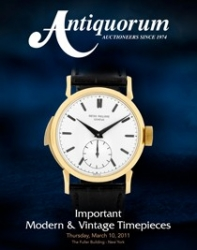 Unique and Historically Important Patek Philippe Ref.2419 Retailed by Cartier Sold for $710,500 at Antiquorum Auction