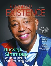 """Russell Simmons Talks About Being """"Super Rich"""" in Elevated Existence Magazine"""