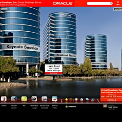 Oracle Using 6Connex Virtual Environments for Series of Public Forums