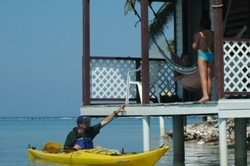 Come Experience the Belize Tropics While Kayaking and Snorkelling Lodge to Lodge