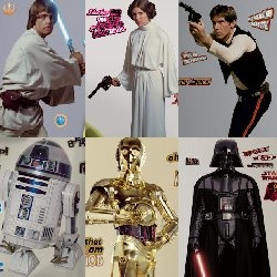 Wall Sticker Outlet Carries New Line of Classic Star Wars Wall Decals