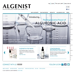Anti-Aging Skincare Line Algenist Launches First Official Website