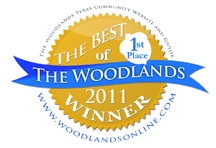 Amazing Spaces Named Best of the Woodlands in Storage Category for Second Year in a Row