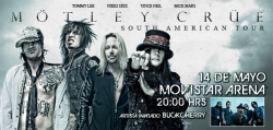 Motley Crue to Tour South America in 2011