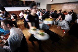 Restaurant Noise Silenced with QuietFiber®