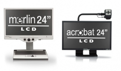 """Enhanced Vision's Sleek New 24"""" Screen Option Offers New Features to Popular Line of Video Magnifiers"""
