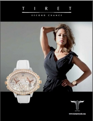 Latest Stacey Dash Creative for Tiret Timepieces