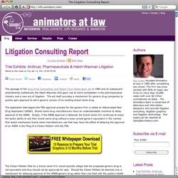 The Litigation Consulting Report Launches for Litigators