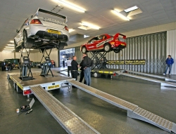 Motor Racing Gets a Trailer-Lift