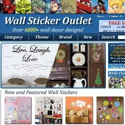 Wall Sticker Outlet Launches Redesigned & Enhanced Website