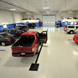 Delightful Honda Dealership Gets Industrial Flooring From Versatile Building Products  U0026 Garage Experts