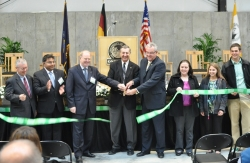 Dedication Ceremony for the First Dry Fermentation Anaerobic Digester in the Americas