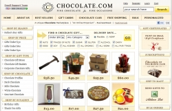 Rare Domain Name and Marketplace Chocolate.com is Up for Sale and is Available Exclusively Through Website Properties