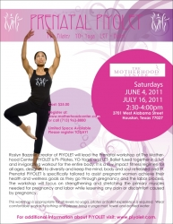 Piyolet, LLC Presents Prenatal Piyolet: A Commitment to Fit and Healthy Pregnancies Low-Impact Fitness Workshop for Expectant Moms