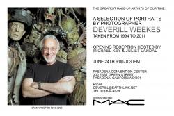 June 24 Gallery Show in Pasadena Celebrates Notable Contemporary Makeup Artists