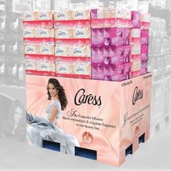 TFI Envision, Inc. Develops Caress® Club Store Pallet Display