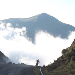 Coffee, Chocolate and Cloudforest: Now Serving Motorcycles