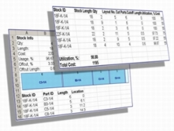 Optimalon Software Released New Excel Add-in 1DCutX for Optimal Linear Material Cutting
