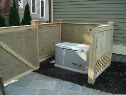Acoustiblok® and QuietFiber® Layered to Quiet Residential Generator in     Maryland Homeowner's Weekend DIY Sounproofing Project