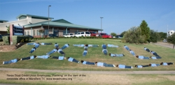 Texas Trust Credit Union Takes Part in the Planking Craze