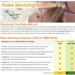 Time and Gems Offers Rolex Service and Repair Center for Customers Worldwide