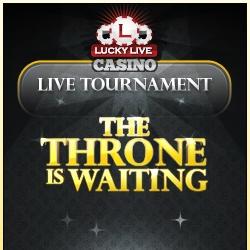 New Live Casino Tournament at LuckyLiveCasino