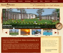 Grand Baymen Website Gets Revamped and Experiences Immediate Impact Upon Launch