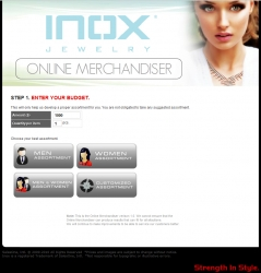 INOX Jewelry Assists Retailers by Stepping Up Innovation with the Online Merchandiser