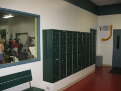 Collins Sports & Fitness Center Installs Lockers for a Tough Crowd