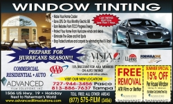 Advanced Film Solutions Exhibiting Energy Window Tinting at The Orlando Home & Garden Show, September 9-11, 2011, Orange County Convention Center