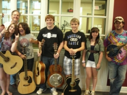 Local Teen Musicians Give Live Radio Broadcast
