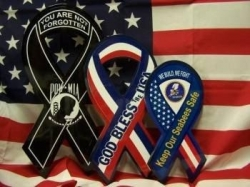 Pacific World Marketing Announces the Distribution of JS' Decorative Support Ribbon by Arkansas Flag & Banner (FlagandBanner.com), Based Out of Little Rock