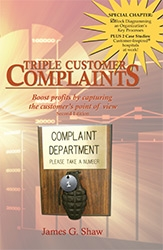 New Book Encourages Businesses  to Welcome Customer Complaints