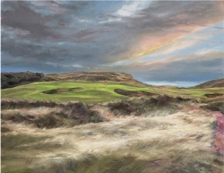 Salvato Golf Course Landscape Paintings Showcased in New Limited Edition Series