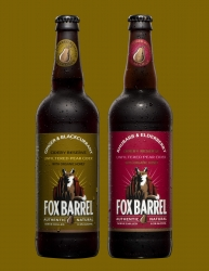 Fox Barrel Cidery Reserves, Unfiltered Pure Pear Ciders