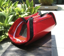 Charitable Request Results in a New Solar-Tech Bag by Project Runway Designer