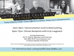 An Interactive Celebrity Chef Culinary Tour - Three Celebrity Chefs Share Secret Recipes & Stories from Their Childhood