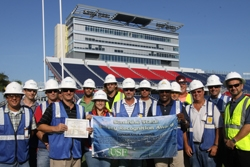 Balfour Beatty Construction Nears Completion of FAU Stadium; Project Receives Safety Award