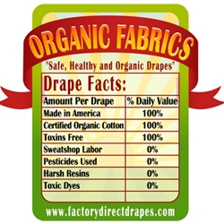 New Line of Eco-Friendly Drapery Fabrics from FactoryDirectDrapes.com
