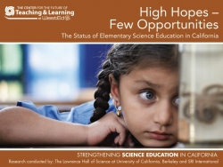 Center for the Future of Teaching and Learning at WestEd to Release New Report Examining Science Education in California Elementary Schools
