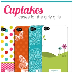 Cuptakes Today Announces the Launch of a Brand New Line of Cases for the iPhone and iPod Touch That Match the Immensely Popular Cuptakes App in Apple's App Store