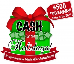 Medical Scrubs Mall Announces Contest to Win Cash for the Holidays